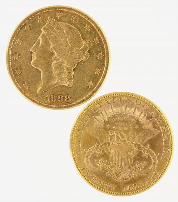 20 Liberty Jewelry Double Eagle