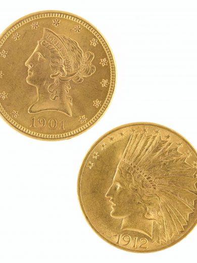 $10 Gold Eagle Raw