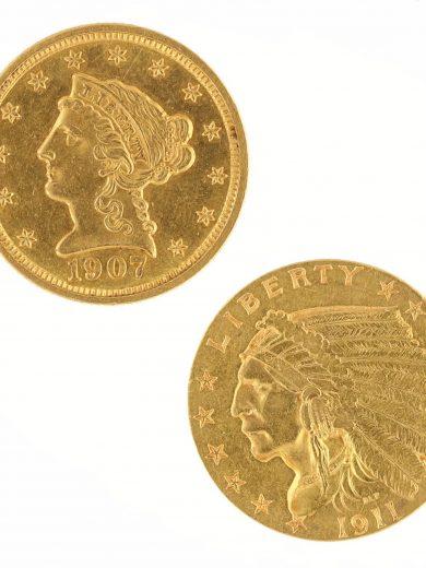 $2.5 Quarter Eagle Raw