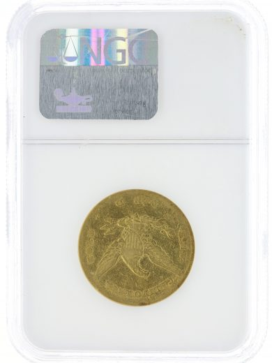 1852 Lg Head Wass-Molitor NGC AU50 $10 rev