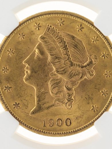 1900-S Double Eagle NGC MS62 $20 59002 obv-zm