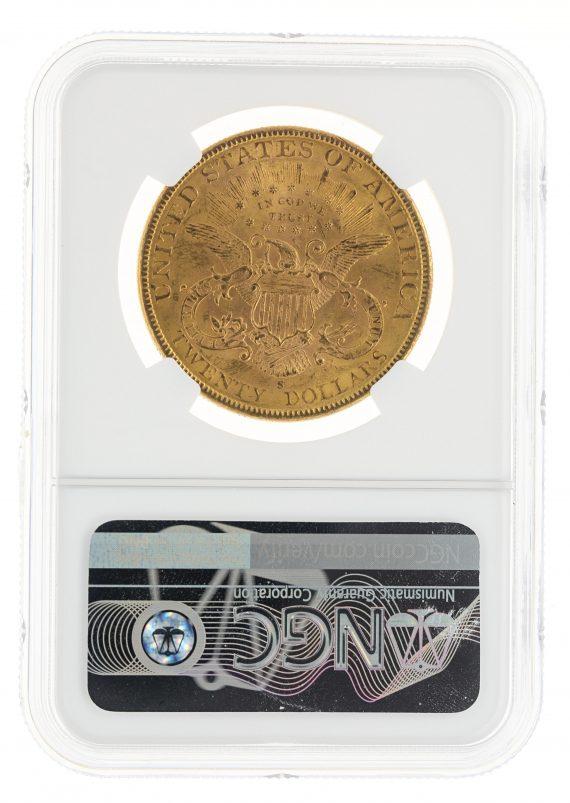 1900-S Double Eagle NGC MS62 $20 59002 rev