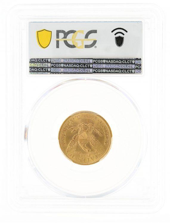 1902-S Half Eagle PCGS MS67 $5 104451 rev