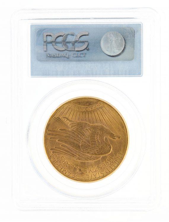 1911-D Saint Gaudens PCGS MS63 $20 02873 rev