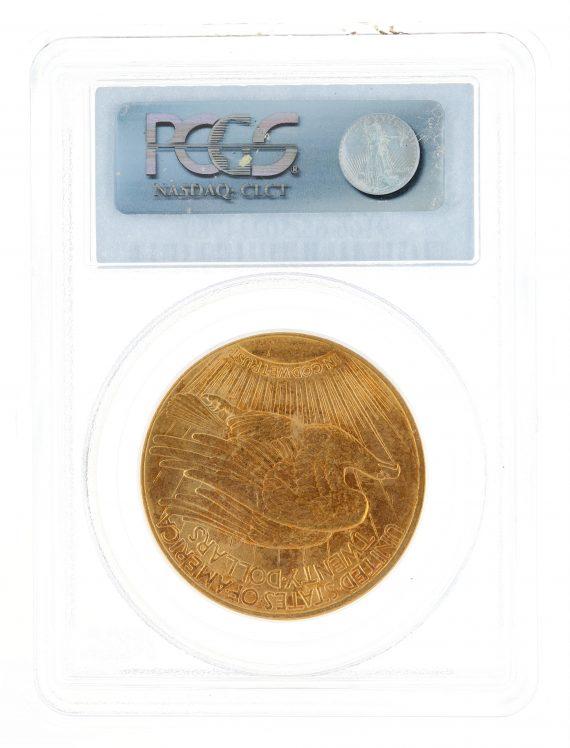 1914-S Saint Gaudens PCGS MS63 $20 34780 rev