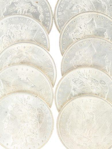 1881 Morgan Dollar BU Lot of 20