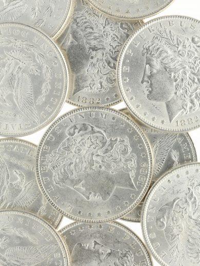 1882 Morgan Dollar BU Lot of 20
