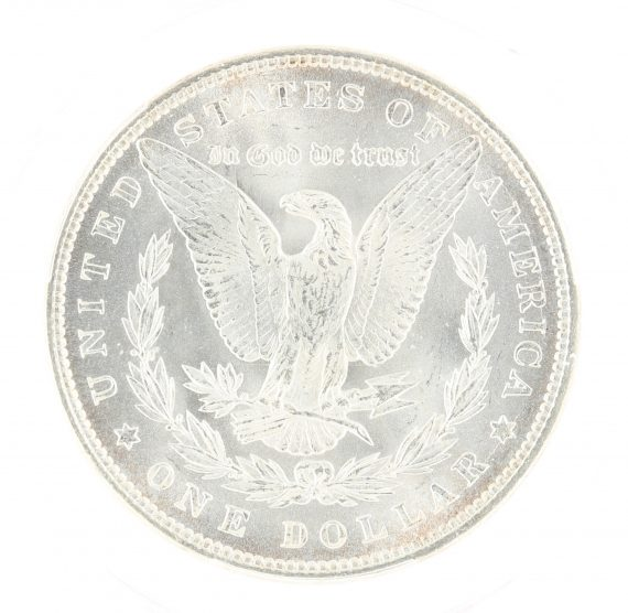 1884 Morgan Dollar PCGS MS67 $1